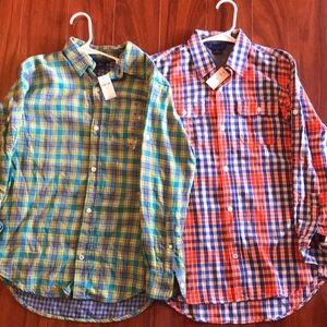 Gap Kids button up shirt bundle